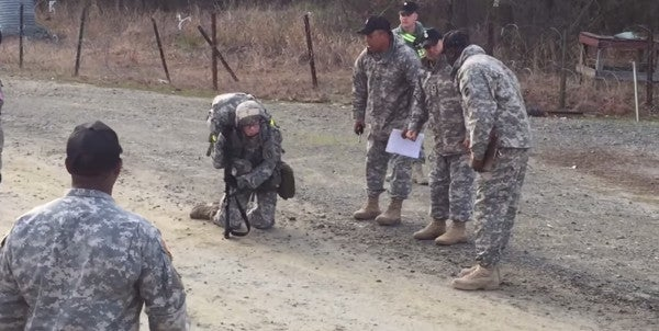 Army Captain Gives Everything She Has To Earn A Coveted Decoration