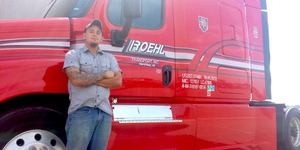 How One Veteran Found A Great Career In The Trucking Industry