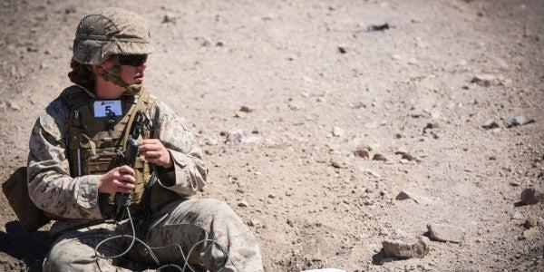 Female Grunts Get Creative During Marine Corps Combat Assessment