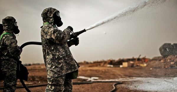 Army Finally Offers Some Insight On US Troops' Exposure To Chemical Weapons