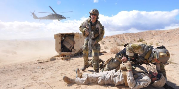 The Pararescueman Who Saved 19 Lives Under Enemy Fire