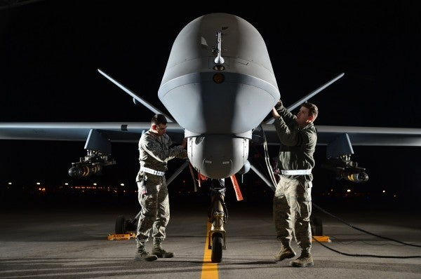 From Behind A Screen, Drone Pilots Go To War Every Day In Nevada's Desert