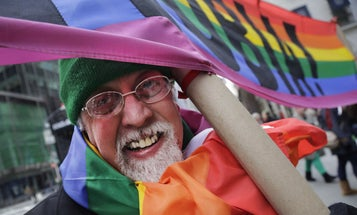 How an Army veteran designed the iconic symbol of the gay rights movement