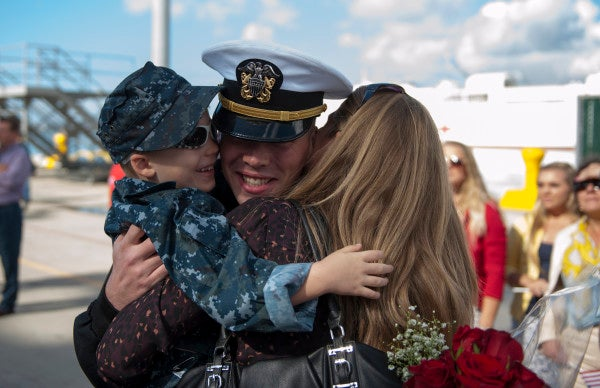 Military Kids: Flexible And Well-Adjusted, Except When They're Not