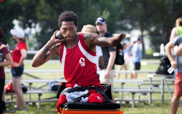 2015 Warrior Games Athlete: 'My Life Is Not Over, It's Just Changed A Little Bit'