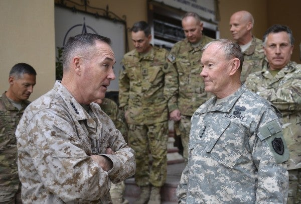 The New Joint Chiefs Face Significant Challenges As They Take Office