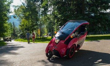 I Drove The i-Road, Toyota's Crazy Half Motorcycle Concept Car