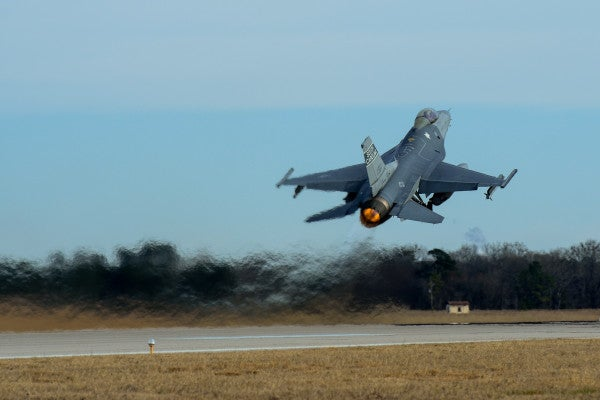 An F-16 Collided With A Cessna In South Carolina