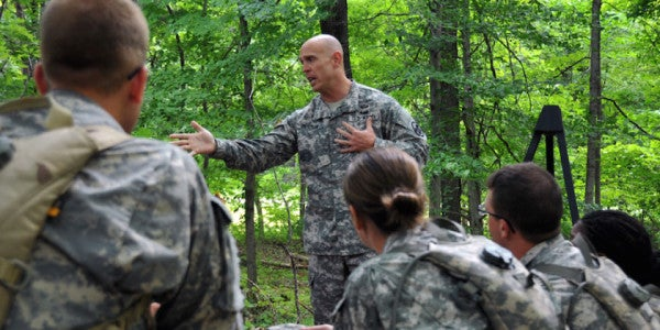 The One Lesson On Leadership That The Military Needs To Embrace
