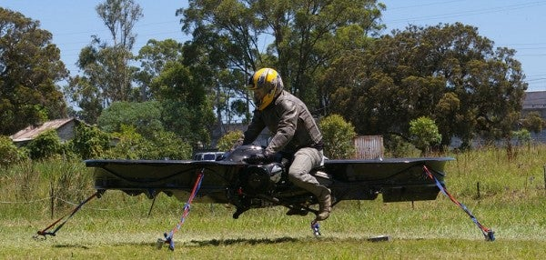 In 5 Years, Hoverbikes Could Be A Reality