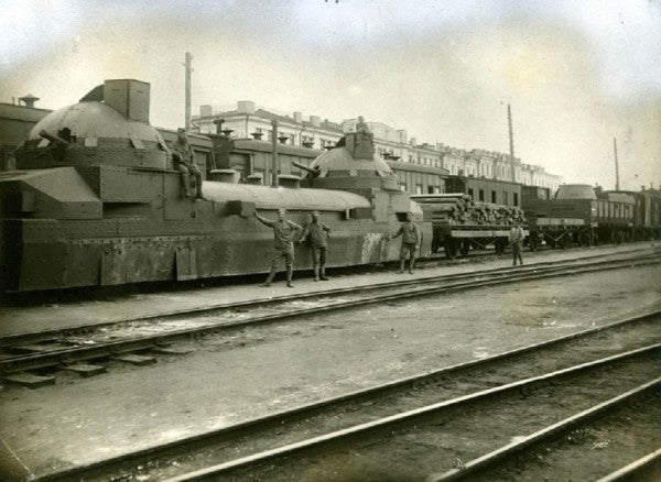 The Story Of Zaamurets, An Armored Train That Fought Its Way Across Eurasia