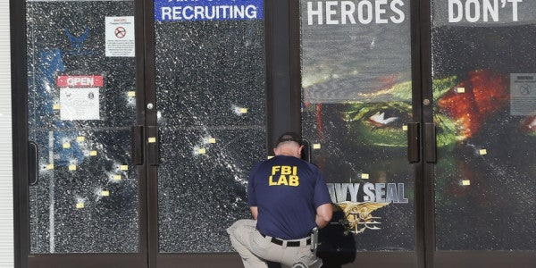 Navy Officer, Marine Fired Sidearms At Chattanooga Shooter