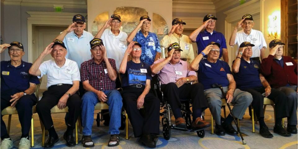 The Incredible Story Of The Men Who Survived A Torpedo Attack, Sinking Ship, Sharks, And 5 Days Lost At Sea