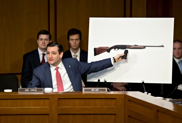 There's A Small Problem With That Video Of Ted Cruz Cooking Bacon With A 'Machine Gun'