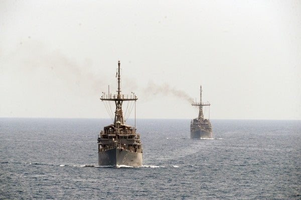 Dozens Of Admirals And Generals Back Iran Deal