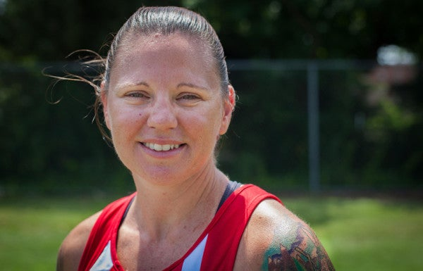 For This Marine Vet, Warrior Games Are About Pushing Through The Pain