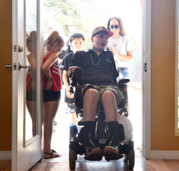 Wounded Vet Receives New 'Smart Home' Thanks To The Amazing Efforts Of Local High School Students