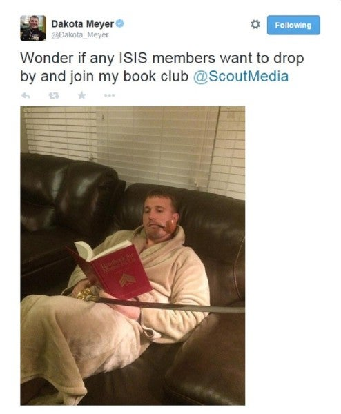 ISIS Points Its Fear Campaign At The US Military. LOL.