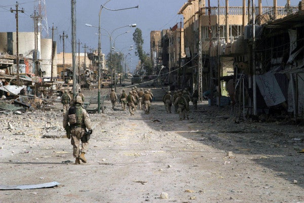 Searching For My Flag In Fallujah
