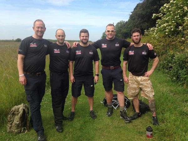 Meet The Vet Walking Across England To Support Troops Wounded In Combat
