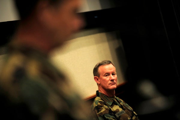 Check Out The Badass Thing McRaven Said During The Bin Laden Raid