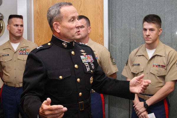 This General Almost Took The Fall For The Commandant's Indiscretions … Almost