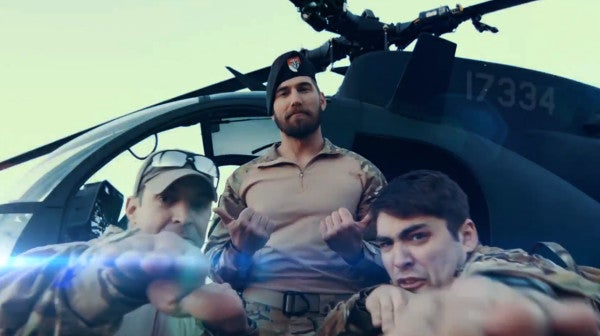 Watch MARSOC and Green Berets Square Off In Awesome Rap Battle