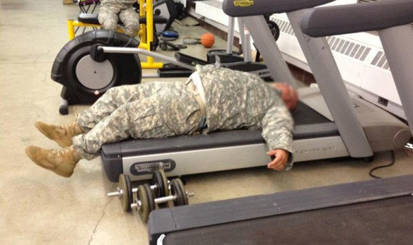 Don't Get Out Of The Military And Become A Lazy Piece Of Shit