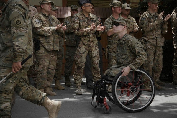 PHOTOS: Wounded Warriors Return To Afghanistan So They Can Leave On Their Own Terms