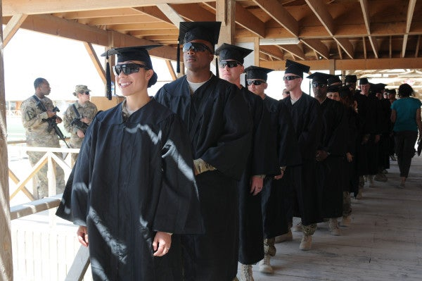 Take Advantage Of The Military's Education Opportunities While You Can
