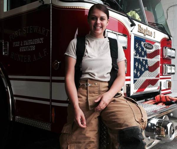 Overcoming Obstacles: One Woman's Journey To Becoming An Army Firefighter