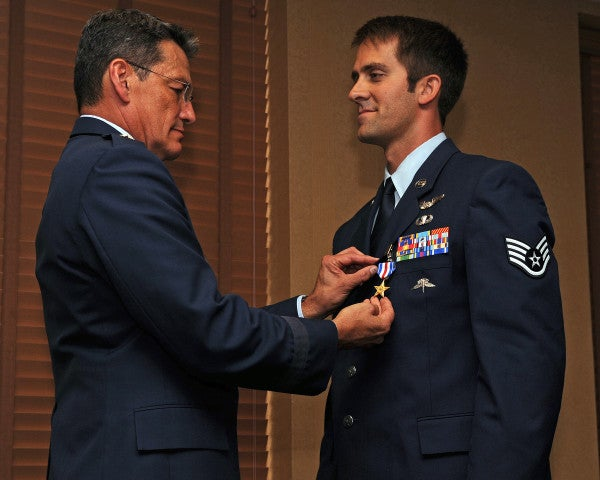 UNSUNG HEROES: The Airman Who Fought For 6 Hours To Rescue Downed Soldiers