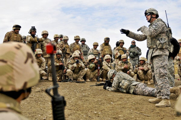 Here's Why We Failed To Adequately Train Iraq's Army