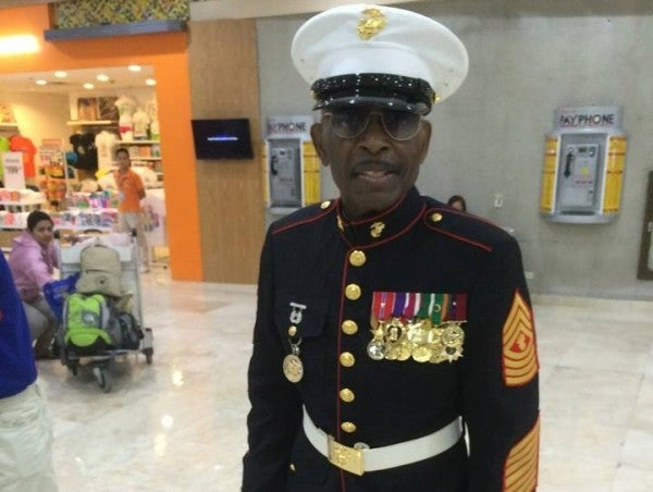 UPDATE: DeAngelo Williams Gave His First Class Ticket To A REAL Marine