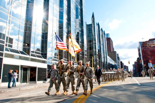 Student Veterans Receive Specialized Career Support At Pitt