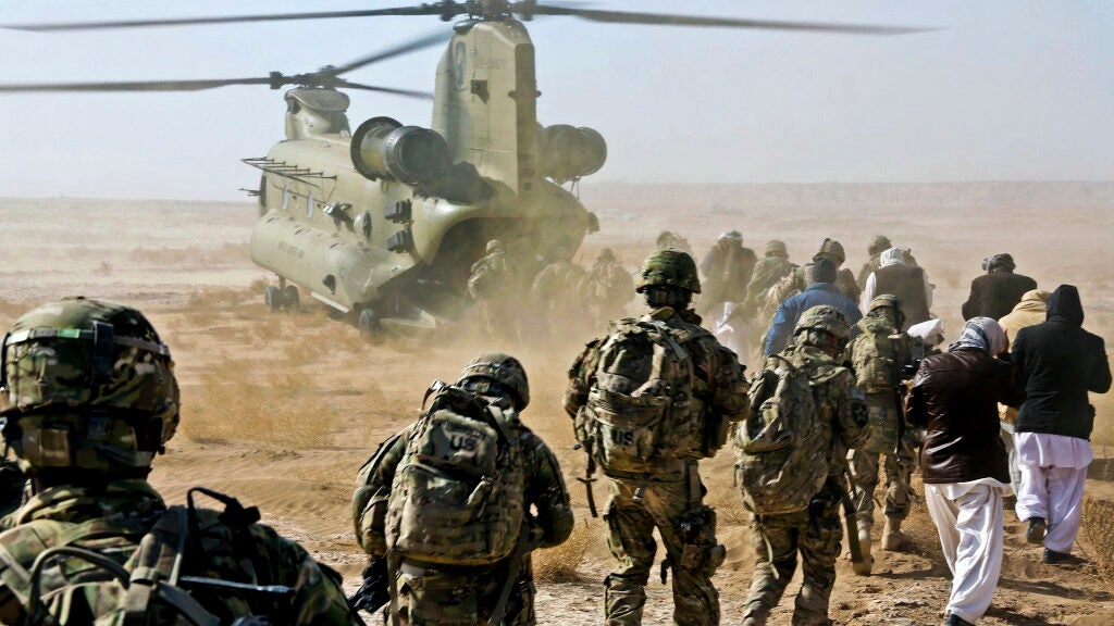 The US is reportedly 'days away' from Afghanistan withdrawal