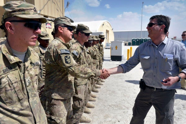 PHOTOS: Here's Who Calls The Shots For The U.S. Military
