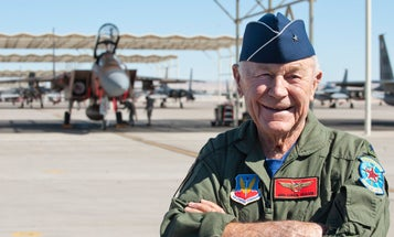 Legendary pilot Chuck Yeager, who broke the sound barrier, has died
