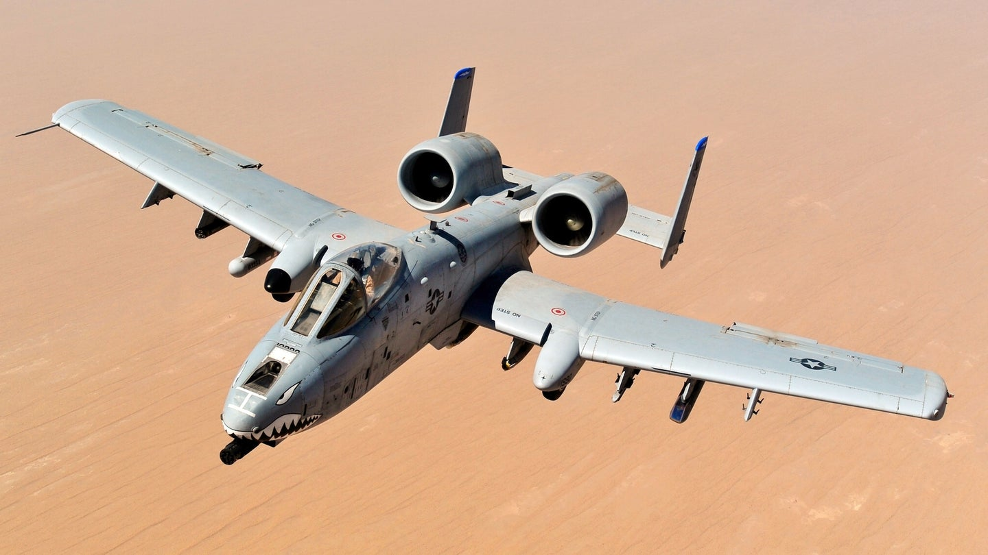 Lawmakers just saved dozens of A-10 Warthogs from the boneyard