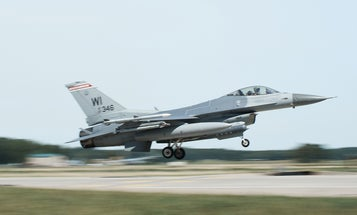 Air Force pilot who crashed in Michigan declared dead