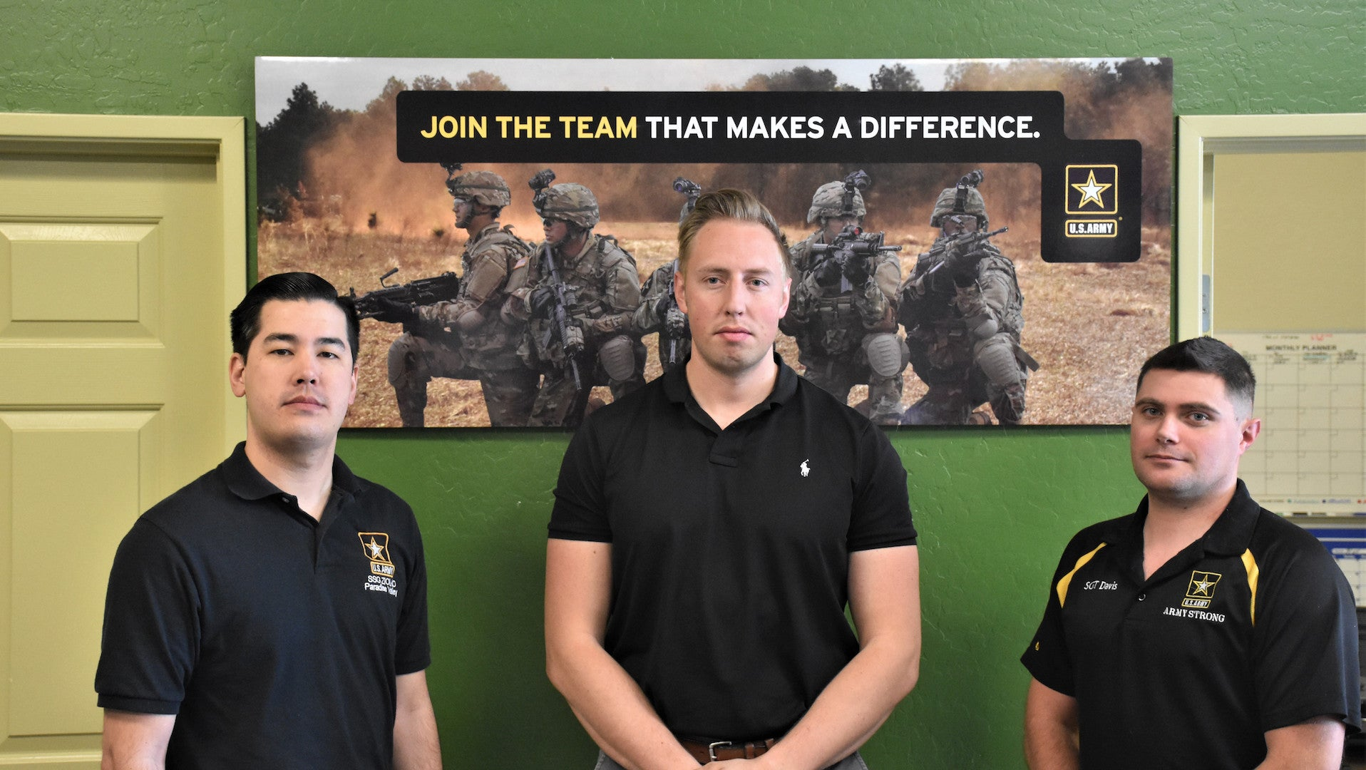 We salute these Army recruiters who dropped everything to respond to a car crash outside their office