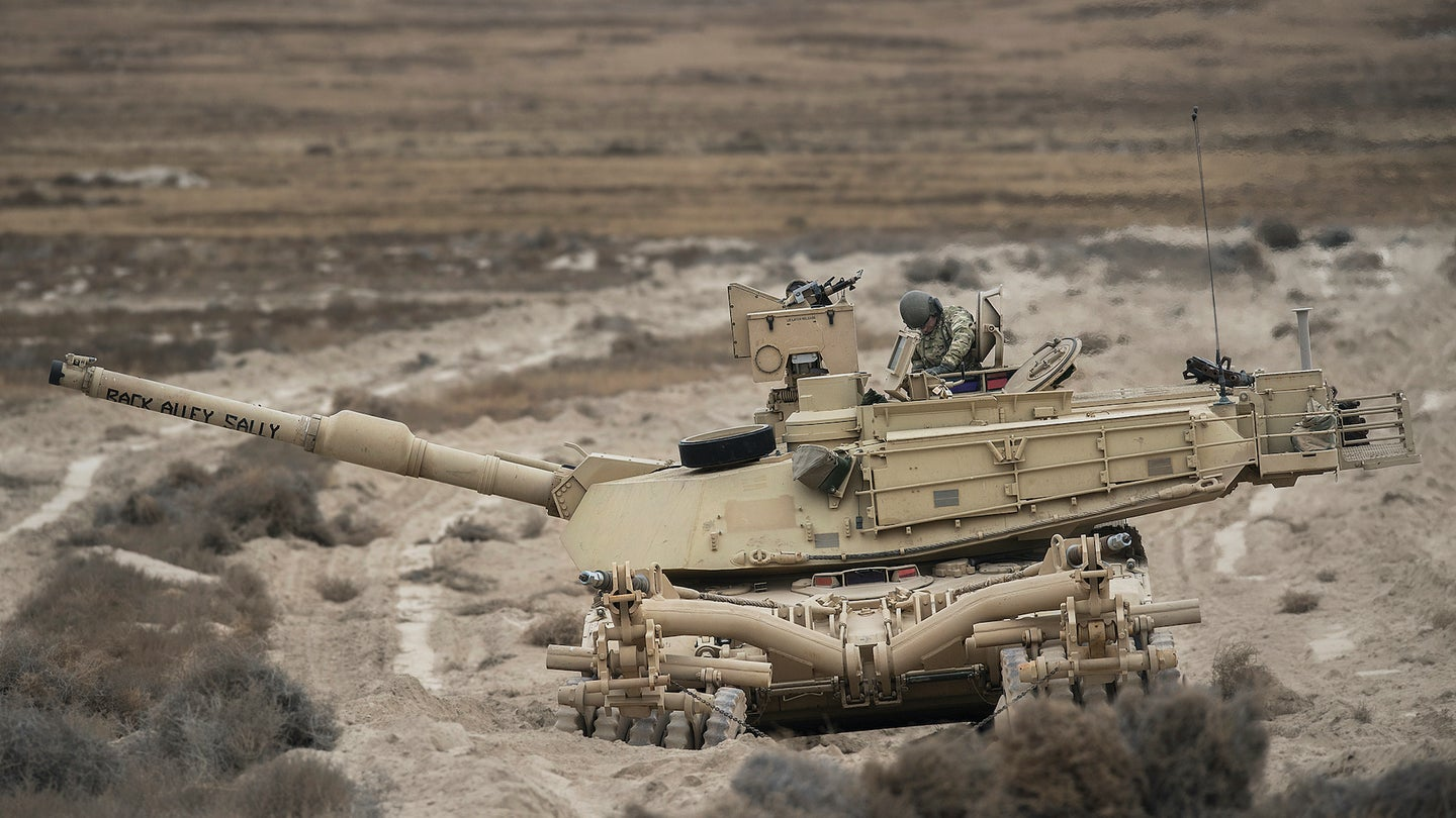 We salute the Army crew who named their tank 'Back Alley Sally'
