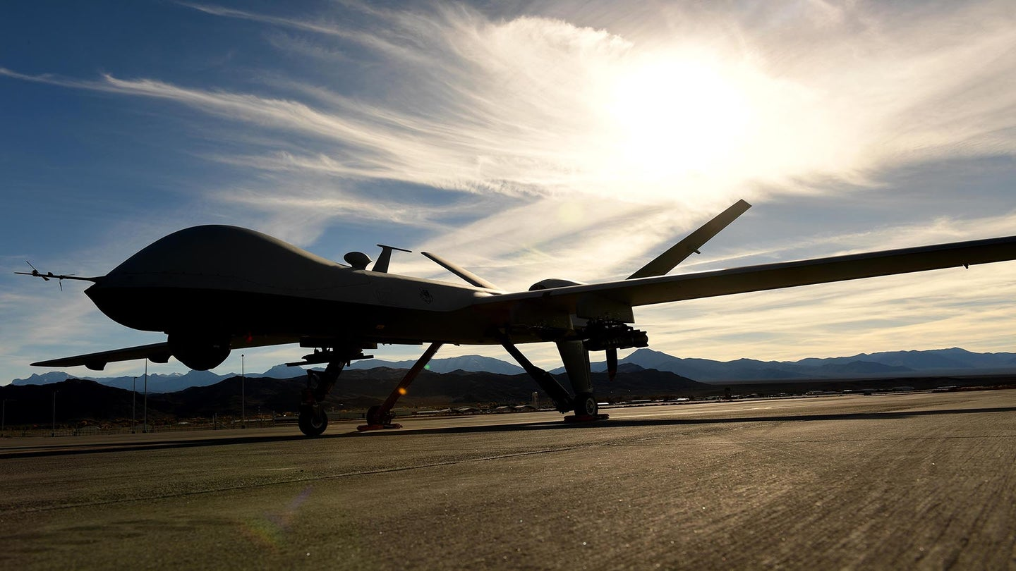 General confirms the US has helped the Taliban by launching drone strikes against ISIS