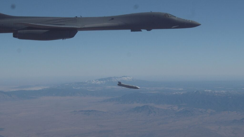 The Air Force just took a major step towards slapping hypersonic missiles on a B-1B Lancer