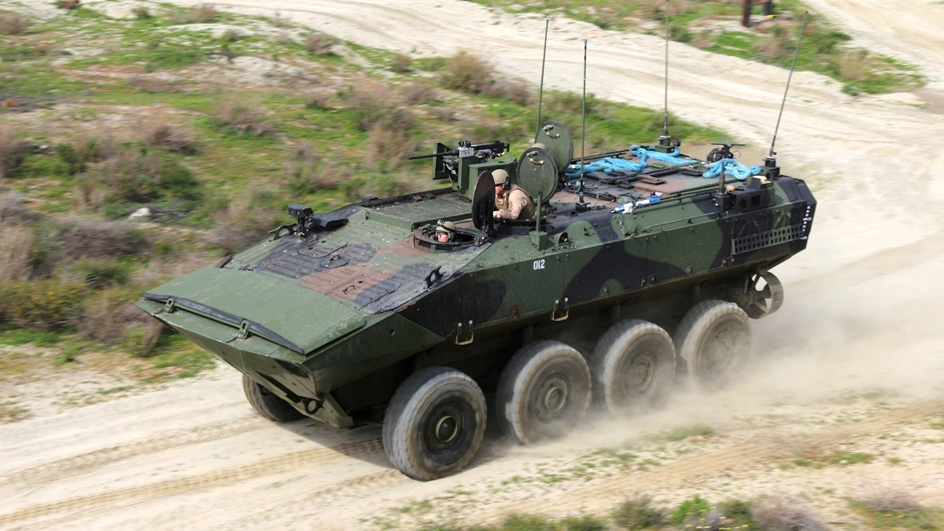 The Marine Corps is full speed ahead with its first new amphibious vehicle since the Vietnam War