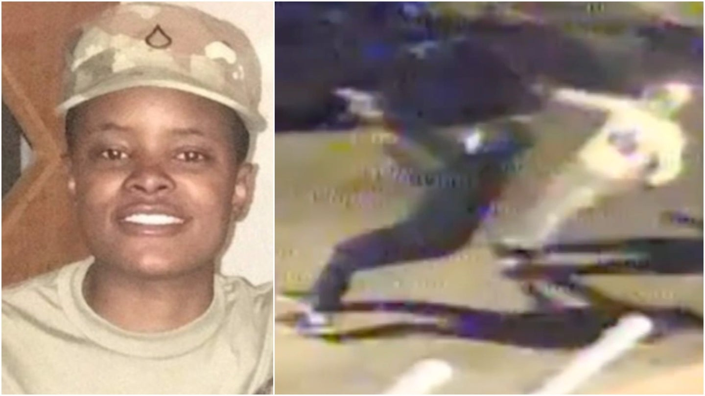 Pennsylvania National Guard soldier killed in ambush shooting caught on video