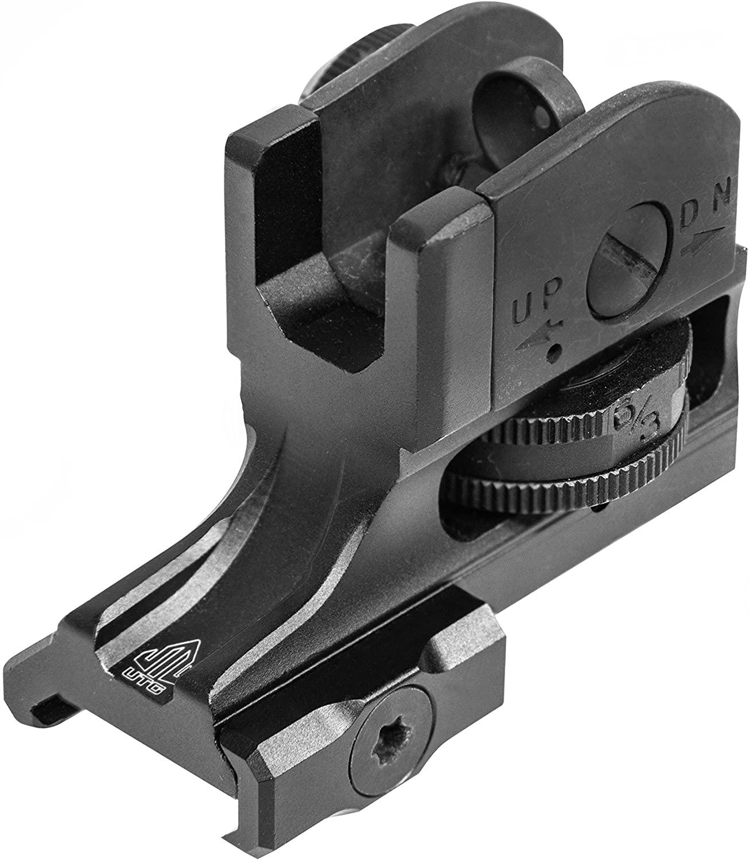 3-UTG Super Slim fixed A2 rear sight
