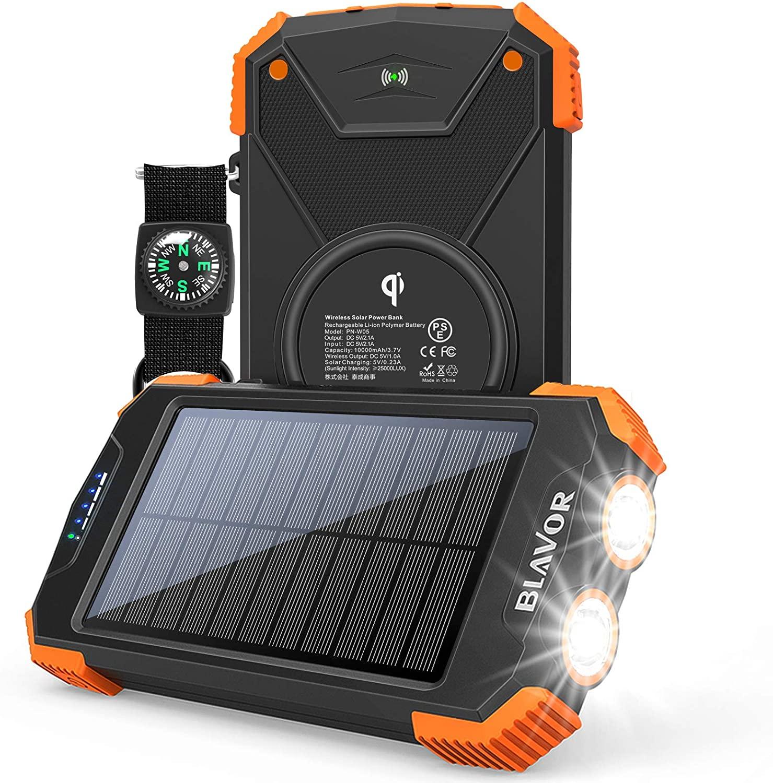 Blavor solar phone charger