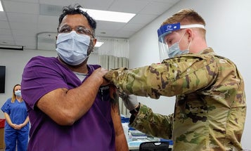 Fort Bragg administers its first COVID-19 vaccine