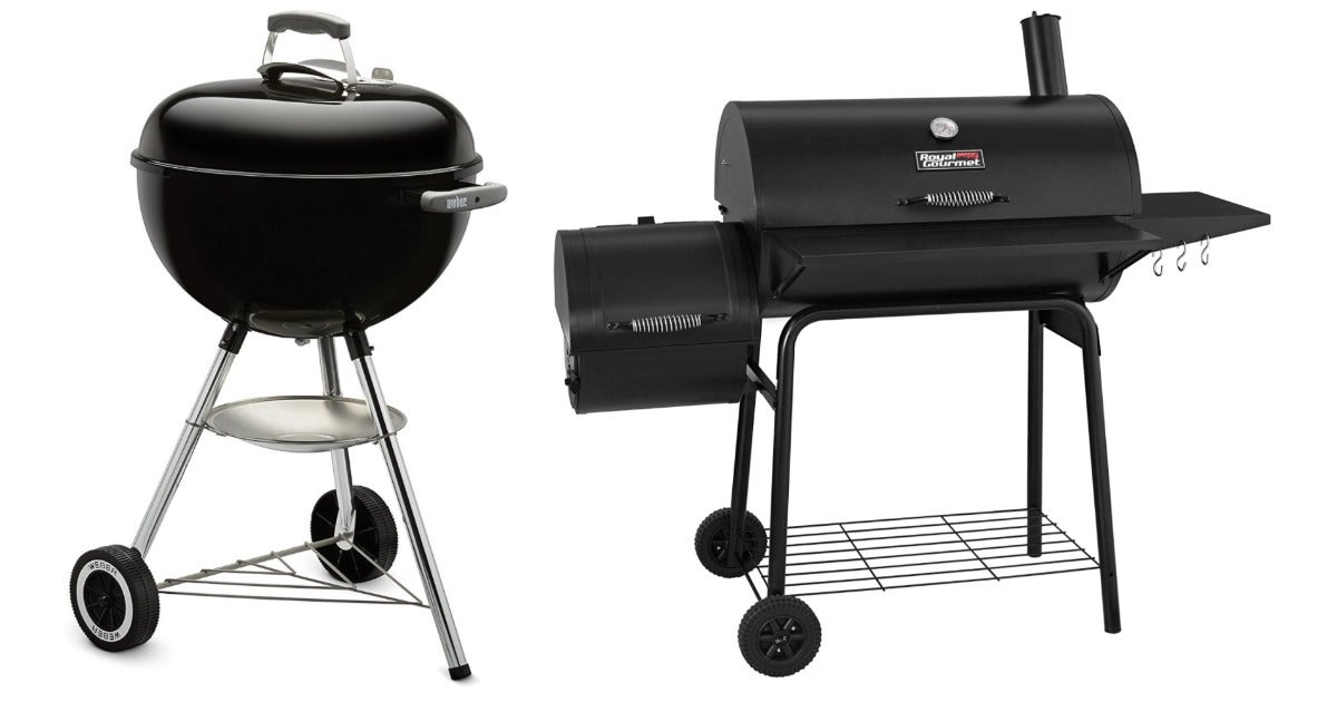 The best charcoal grills for the backyard pitmaster